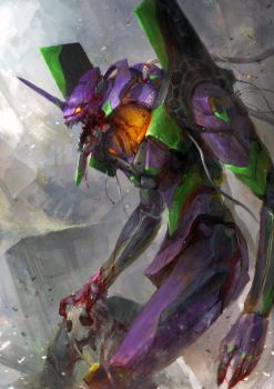 Evangelion - Unit 01 by theDURRRRIAN