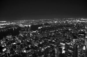 New York II B+W by spendavis