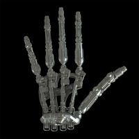 Marcus endoskeleton hand - T4 by nickloz