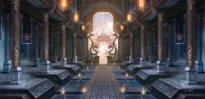 Hall of Shu by ChaoyuanXu