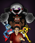 FNAF2: It begins! by lewisrockets