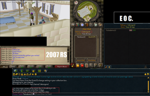 muted in 2007 and EOC because of another player. by ownerfate