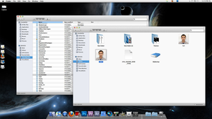 My MacOSX style on Win7 by RaymonVisual