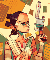 Rey-a-Day 80 by michaelfirman