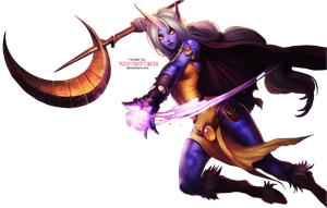 LoL Soraka - Render by PoopsiePanda