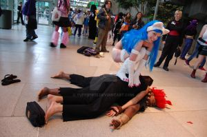 Felicia Match Fight by Yuffie1972