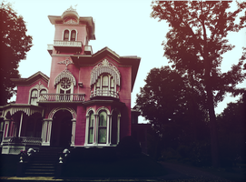 The Pink House by BlueHemlock