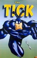 The Tick: Spoooon!!! by PapaSpikey