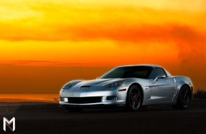 Going low for the Z06 by Mishari-Alreshaid