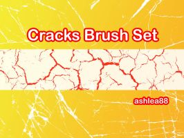 Cracks Brush Set by ashzstock