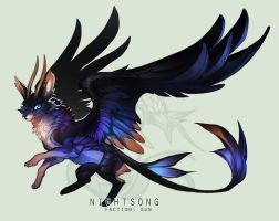 [AUCTION] Dragonkit - Nightsong [CLOSED] by sordid-dessert