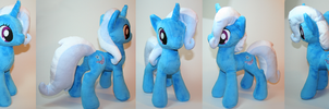 Trixie plushie by Yukamina-Plushies