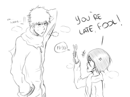 ichiruki sketch chapter 474... by Shyruu