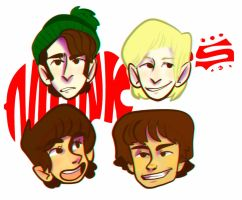 hey, hey, we're The Monkees! by Karoline-13
