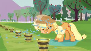 AppleJack - Rain off Animation Gif by GT4tube