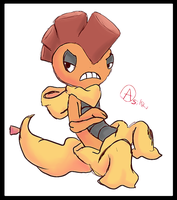 This Is Scrafty by Asikku