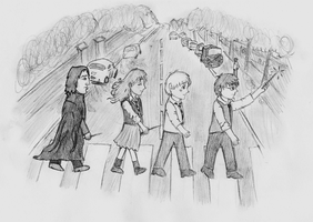 The Beatles scene - HP by GoldenPhoenix75