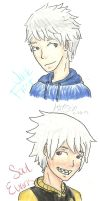 Jack Frost and Soul Evans colored by guardian-angel15