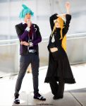 Pokemon ~ Steven Stone and Cynthia by YamatoTaichou