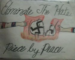 Anti-Nazi Poster by All-Will-Bow-to-Zim