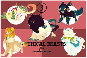 DCOM: Mythical Beasts by 11monsters