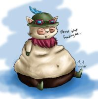 Fat Teemo by Ms-Silver