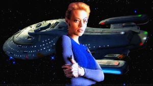 Jerri Ryan Seven of Nine by Dave-Daring