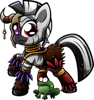 Zin'thara The Witchdoctor by SkunkDJ