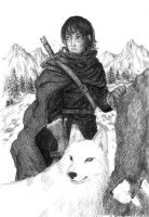 Jon Snow by Nawia