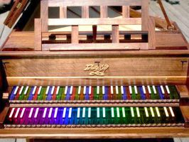 Colourful Harpsichord by chemicalrubber