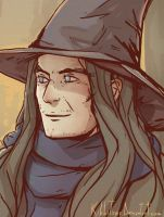 Young Gandalf by Kibbitzer
