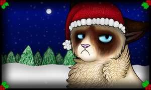 Grumpy Cats Worst Christmas Ever by PrinceCraftie