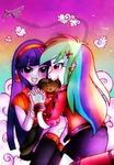 Hearts n' Hooves day_Twidash 2014 by ShikimaAkemi