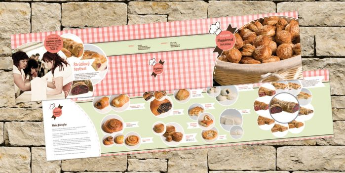 DolceVita bakery bulletin by fuxxo