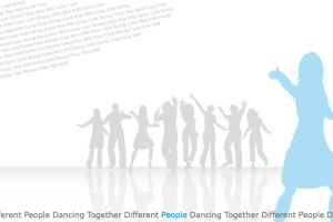 Different People Dancing by 2Trish