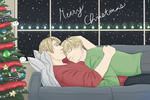 A Merry USUK Christmas! by VictoriaWings