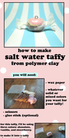 Polymer Clay Salt Water Taffy Tutorial by GrandmaThunderpants