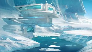 Arctic  Station by sheer-madness