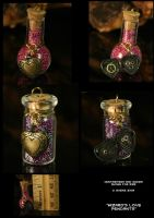 Wizard's Love Pendants by CatharsisJB