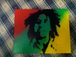 Bob on fade by RealKaBoomArt