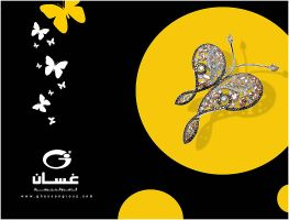 butterfly to gold by alwahab