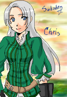 lady chris - suikoden iii by flame-champ