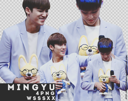 +Pack PNG | Mingyu #4 | WSSSXX by sugarmeanie