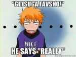 Ichigo's response to my Bleach Fave quote by Chrisman1991