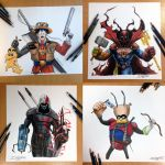 Mash up characters by AtomiccircuS