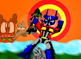 Box Office Moose Transformers Age of Extinction by ralphbear