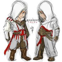 Assasins Creed Chibis by ManiacPaint