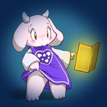 young toriel by enorapi