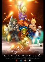 dragonball z collaboration by nefar007