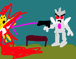 Megatron murders Taco Bell chef by Robotponytron